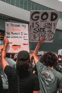 God is on the side of the oppressed
